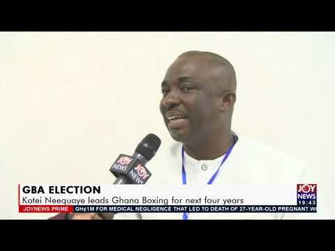 Kotei Neequaye leads Ghana Boxing for next four years - Joy Sports Prime (22-7-21)