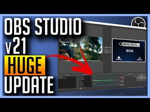 ✅ OBS v21 Update - Scripting, Audio Overhaul, Multiview + More!