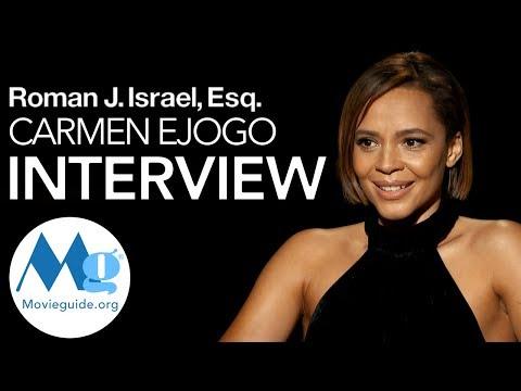 Carmen Ejogo Interview: Roman J. Israel, Esq.