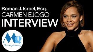 Carmen Ejogo Interview Roman J Israel Esq