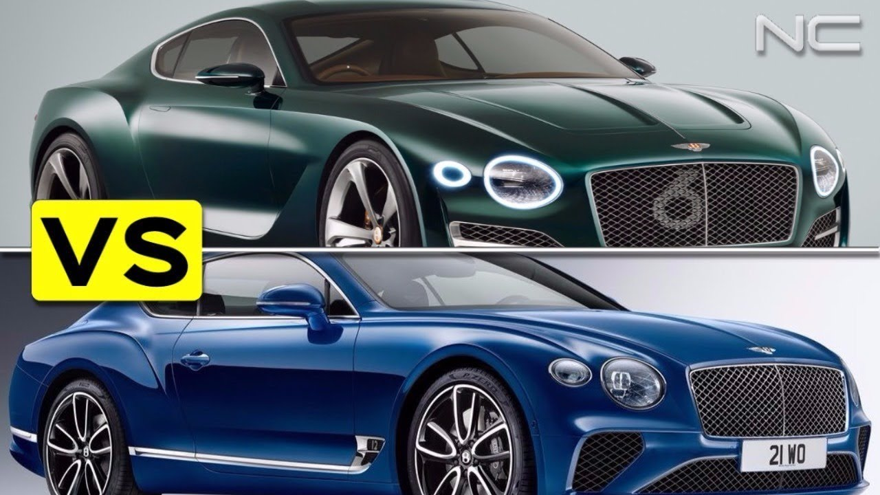 Bentley Exp 10 Speed 6 Concept Vs 2018 Continental Gt