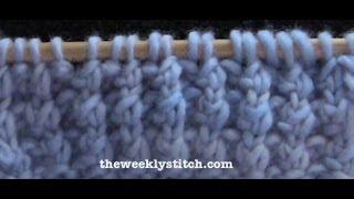 Blanket Rib Stitch