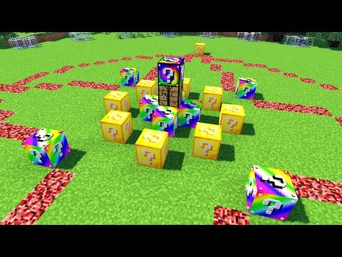 Minecraft: LUCKY BLOCK HUNGER GAMES | MODDED MINI-GAME