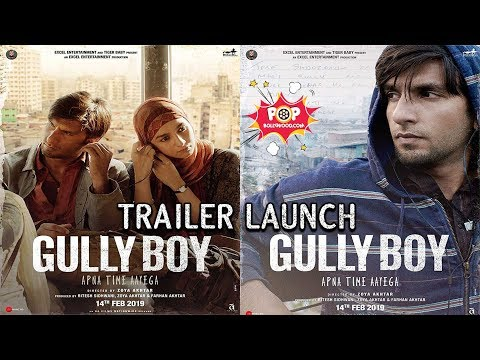 UNCUT GULLY BOY TRAILER LAUNCH| RANVEER SINGH | ALIA BHATT#GullyBoyTrailer#ZoyaAkhtar