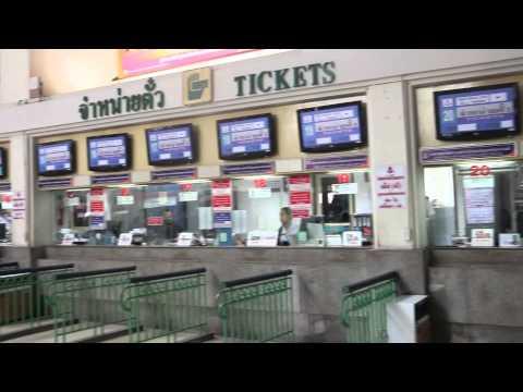 Bangkok Railway Station (Hua Lamphong Station)