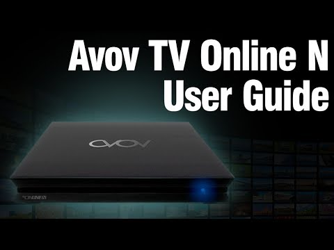 Avov TVOnline N User Guide - Download Link