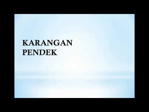 Bahasa Melayu Menulis Karangan Pendek Youtube