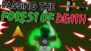 [CODES] PASSING THE FOREST OF DEATH! | Shinobi Story | ROBLOX