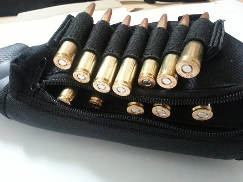 Generic Tactical Rifle Cartridge Buttstock Pouch from Ebay