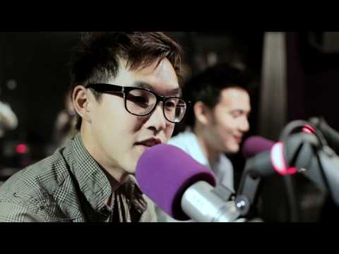 Wong Fu Productions in the hitz.fm Studio
