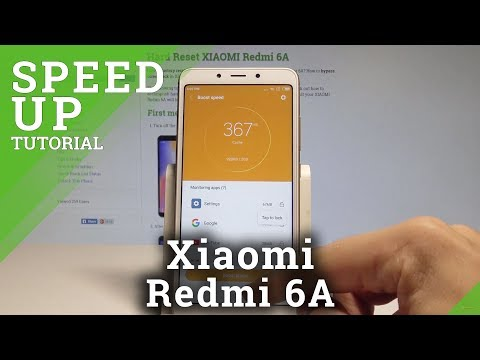 How to Speed Up XIAOMI Redmi 6A - Boost MIUI System / Clean Junk Files |HardReset.Info