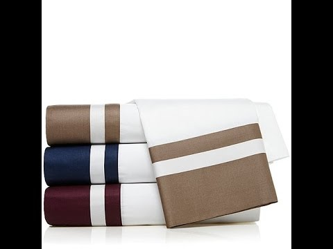 India Hicks Off Shore Cotton Sateen Sheet Set