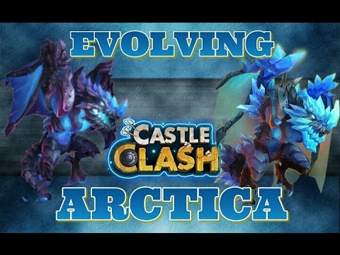 Castle Clash Evolving Arctica!