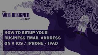 How To Setup Y๐ur Business Email On A IOS IPHONE IPAD