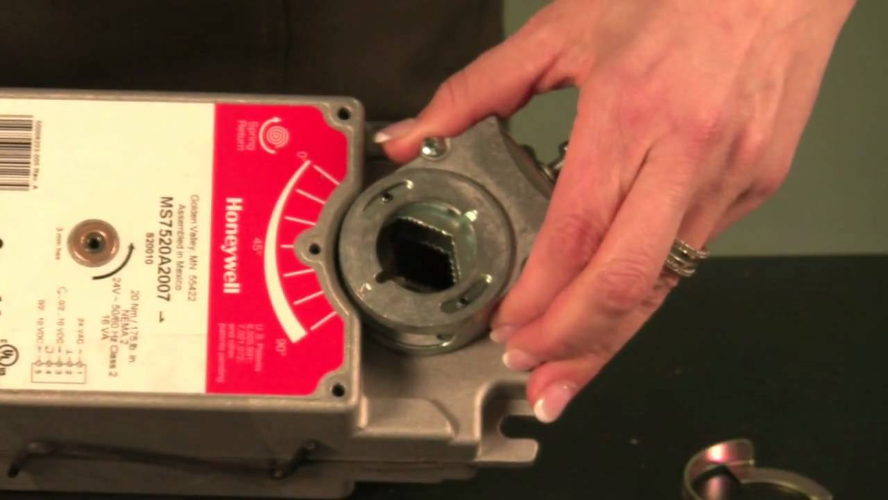 honeywell damper actuators youtube rh youtube com Honeywell Vent Damper Honeywell Actuators Manuals