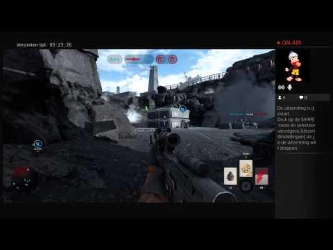 Live PS4-uitzending van villagevoice star wars