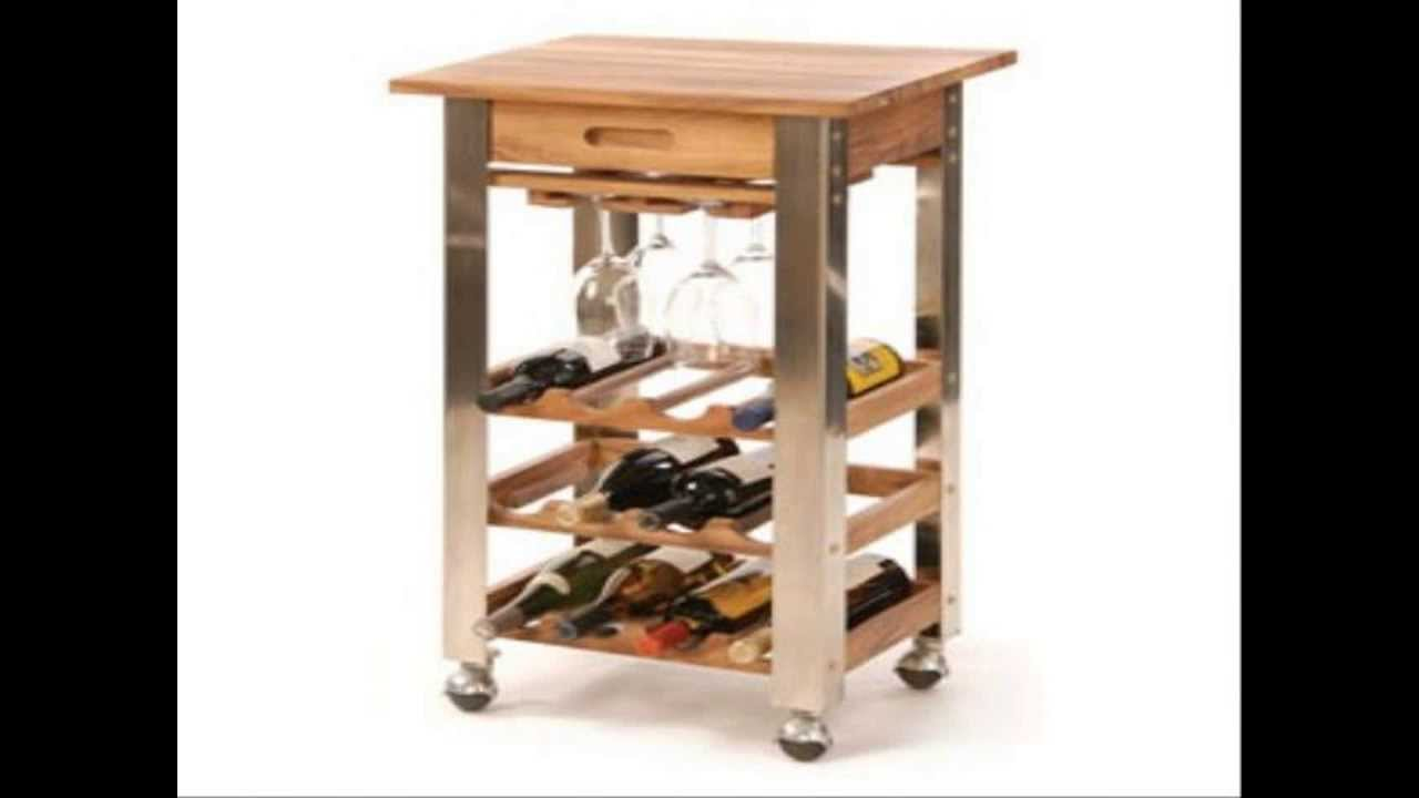 Kitchen trolley designs youtube for Kitchen trolley design