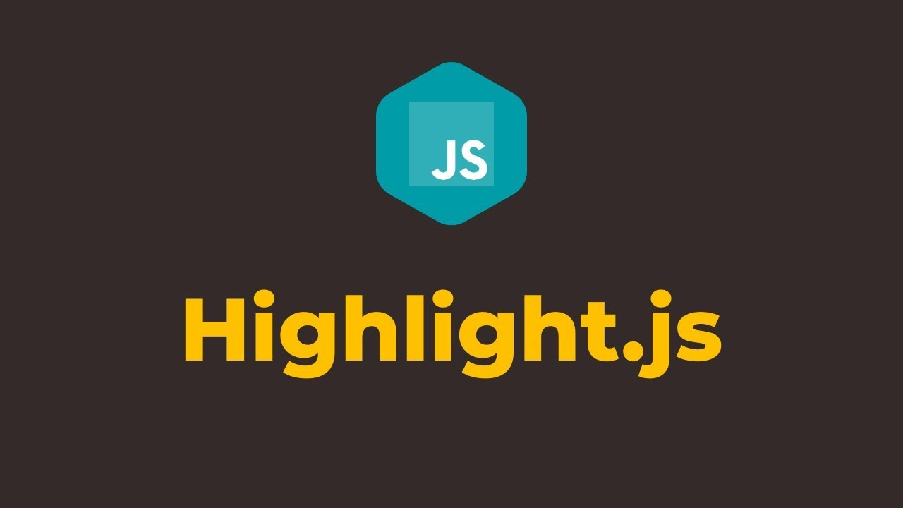How to Highlight Code Syntax in Javascript using Highlight JS