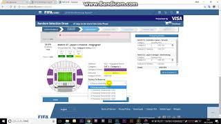 ワールドカップ ロシア大会 チケットの買い方 フェーズ2 ランダム抽選