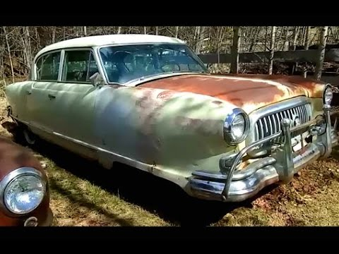 Field Find! 1952 Nash Ambassador Custom!