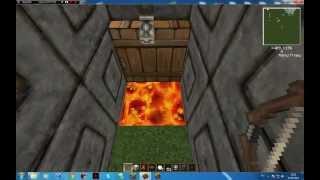Minecraft (Урок 3) Мусоросжигатель и туалет.
