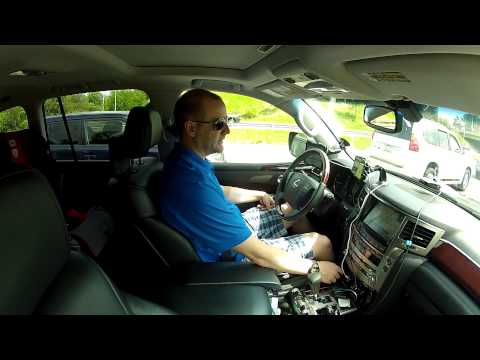2013 Lexus LX 570 - Philly to Florida - Road Trip Technology