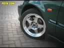 Rota Wheels Slipstream Polished Face in motion