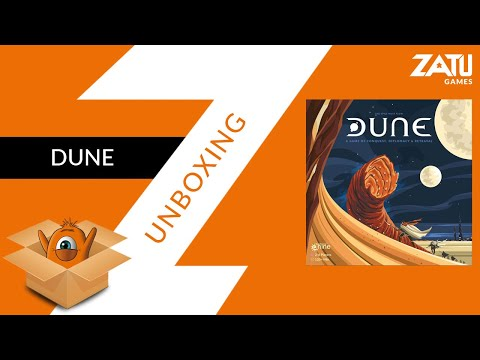 Dune Board Game Unboxing