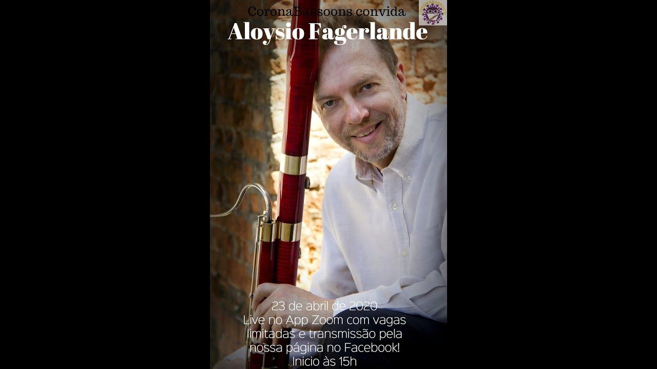Live com o professor Aloysio Fagerlande