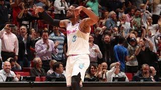 Dwyane Wade Game Winner vs 76ers! Hints at Retirement! 2017-18 Season