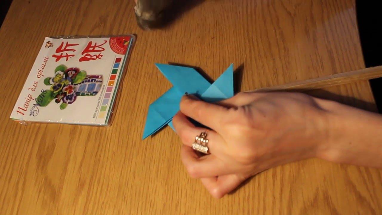 Как сделать ветряную мельницу из бумаги фото 108