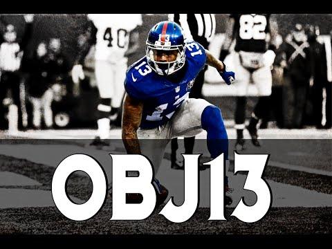 OBJ13   Odell Beckham Jr Epic Rookie Season   New York Giants