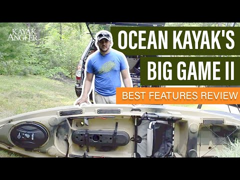 Ocean Kayak S Big Game Ii Fishing Kayak Specs Features Review And Walk Around Youtube