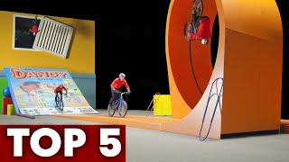 Best Of Danny MacAskill | 5 All Time Trials Bike Edits