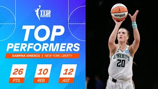 Sabrina Ionescu Records First Triple-Double, Youngest In WNBA History
