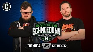 Innergeekdom Tournament! Mark Donica VS Sean Gerber - Movie Trivia Schmoedown