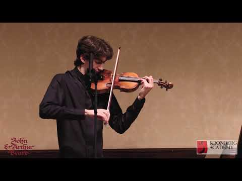 Eugène Ysaye (1858-1931) - Violin Sonata No. 4 'Fritz Kreisler' - Stephen Waarts, violin