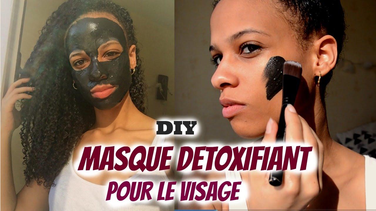 diy masque visage au charbon v g tal points noirs peaux grasses peaux acn iques youtube. Black Bedroom Furniture Sets. Home Design Ideas