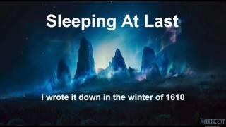 SLEEPING AT LAST JUPITER LYRICS