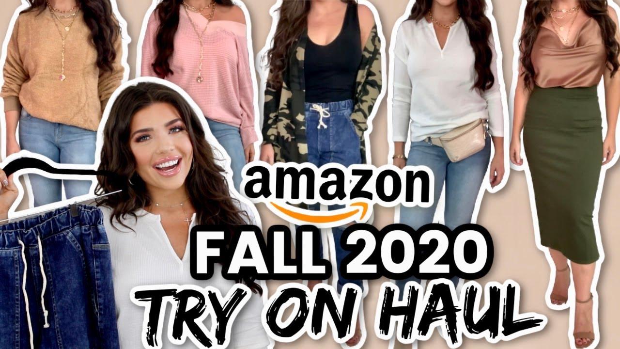 AMAZON FALL CLOTHING TRY ON HAUL *FALL 2020 * | Amazon Items You Need! #AmazonHaul #AmazonFashion