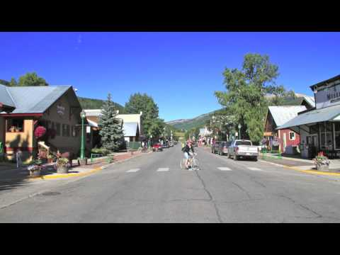 Crested Butte, Colorado Historic Downtown