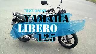 Test Drive YAMAHA LIBERO125 / Prueba de Manejo YAMAHA LIBERO 125