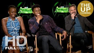 Mark Ruffalo, Chadwick Boseman and Danai Gurira – Avengers Infinity War interview