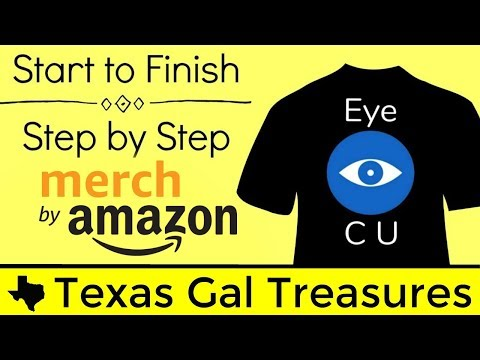 Live Step by Step Merch by Amazon Shirt Creation Upload - Create List a Shirt from Start to Finish