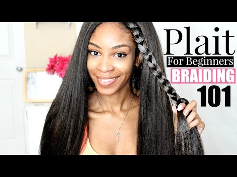 How To Plait Hair For Beginners Step By Step
