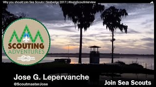 Why you should join Sea Scouts  | Seabadge 2017 | #InstaScoutInterview
