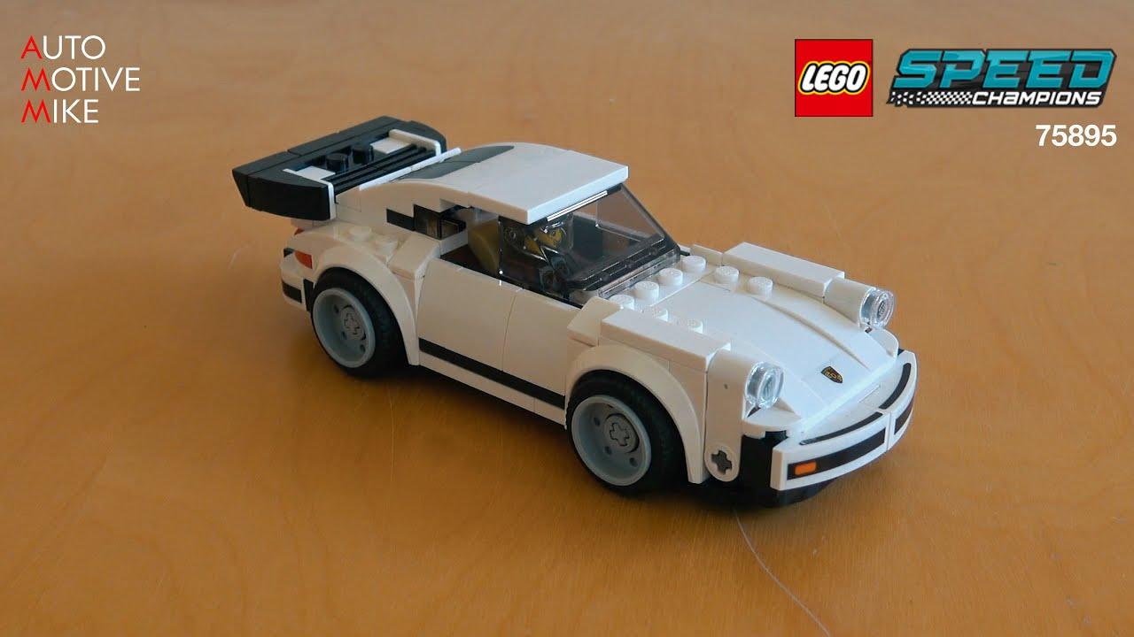 NUOVO COSTRUZIONI LEGO SPEED CHAMPIONS 1974 PORSCHE 911 Turbo 3.0 75895 Sigillato in Fabbrica