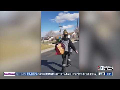 Colorado woman chases porch pirate