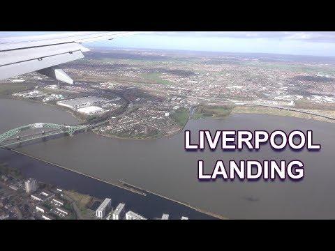 LIVERPOOL LANDING - JOHN LENNON AIRPORT 2019 4K