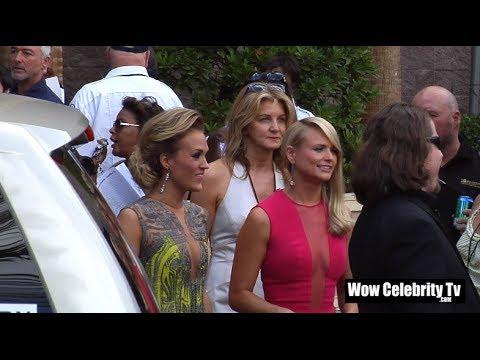 Miranda Lambert & Carrie Underwood arrives to the 2014 Billboard Music Awards in Las Vegas